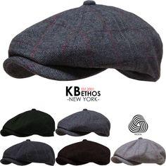 Cabbie Newsboy Gatsby Cap Mens Ivy Hat Golf Driving Winter Cold Flat Applejack #KBETHOS #Applejack