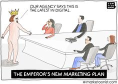 the emperor's new marketing plan