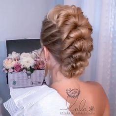 Hairdo For Long Hair, Bun Hairstyles For Long Hair, Elegant Hairstyles, Braided Hairstyles, Pretty Hairstyles, Braided Upstyles, Braided Updo, Bridal Hair Buns, Hair Up Styles