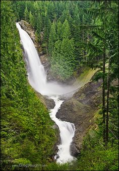 Wallace Falls State Park, Cascade Mountains, Washington