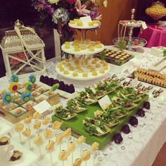 Beautiful #FirstOfSpring station setup for the birthday girl last night! #boutiquebites #catering