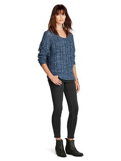 Denim & Supply Fringed Cotton Sweater - Denim & Supply Shop All - Ralph  Lauren UK