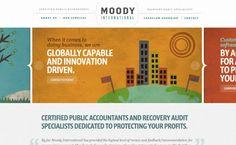 moody international accountants web design