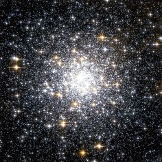 Messier 69 (also known as M69 or NGC 6637) is a globular cluster in the constellation Sagittarius. M69 is at a distance of about 29,700 light-years away from Earth and has a spatial radius of 42 light-years. It is a close neighbor of globular cluster M70, with 1,800 light-years separating the two objects; both of these clusters lie close to the galactic center.
