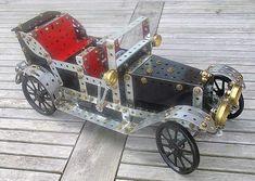 Meccano model page 57 Meccano Veteran Car