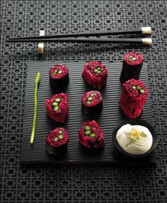 Sushi de remolacha   Delicooks   Good Food Good Life