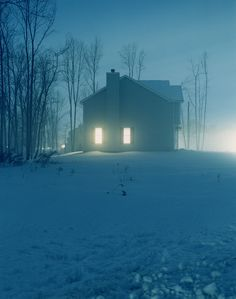 Todd Hido, Houses at Night,1999 - Ongoing