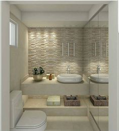 Trendy Small Master Bathroom Remodel With Tub Powder Rooms Apartment Bathroom Design, Bathroom Design Luxury, Bathroom Design Small, Diy Bathroom Remodel, Interior Design Kitchen, Modern Bathroom, Master Bathroom, Bathroom Inspiration, House Design