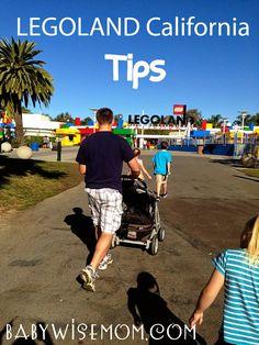 Chronicles of a Babywise Mom: Legoland California Tips