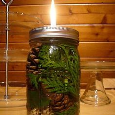 Recipes, Homemaker projects & Boredom Busters Galore! : Mason Jar Oil Lamp
