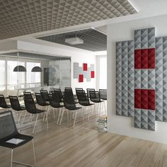 Acoustic Sound Absorbing Panels Pyramid Accusta Sound Absorbing Panel - Beaufurn.com