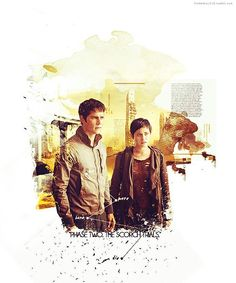 Thomas and Brenda tumblr #scorchtrials The Scorch Trials