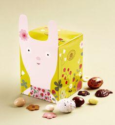 boite Pâques, création Mini labo pour Mazet