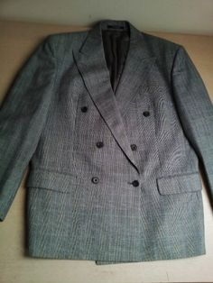 Mens Daks wool suit jacket and trousers luxury Daks prince of Wales suits