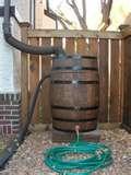 Rain barrell -