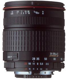SIGMA LENS 28-200mm f3.5-5.6 DL Aspherical Hyperzoom Macro SLR Camera Lens     #SLRLenses            $  459.99