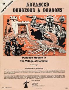 The Village of Hommett, Part I of The Temple of Elemental Evil
