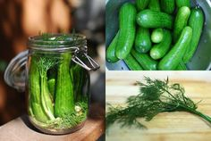 Kosher Dill Pickles are made in a brine spiced with bay leaves, fresh dill, crushed garlic and pickling spices. Fresh, crisp and delicious. Kosher Dill Pickles, Kirby Cucumber, Creamy White Chicken Chili, Sushi Lunch, How To Make Sushi, Veggie Tales, Butter, Fresh Dill, Bon Appetit