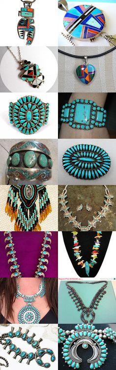Ask Santa For Native American Jewelry  by Hema Rao on Etsy--Pinned with TreasuryPin.com
