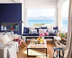 Apartament în stil marin frumos amenajat pentru o familie cu copii