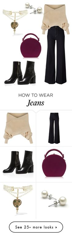 """Jeans 3"" by dina-001 on Polyvore featuring PS Paul Smith, WithChic, Gucci and Bertoni"