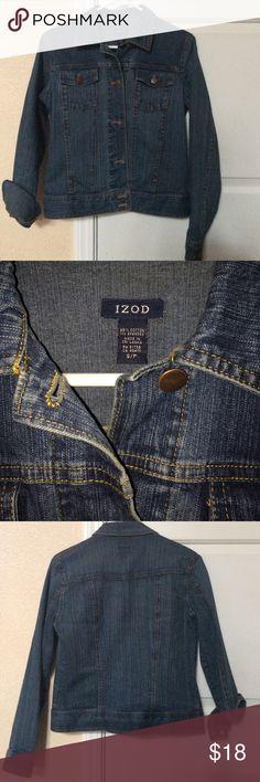 IZOD denim jacket Size small. Great condition. Izod Jackets & Coats Jean Jackets