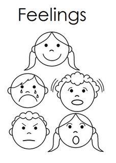 Feelings And Emotions Preschool Worksheets Feelings Preschool, Feelings Activities, Manners Preschool, Teaching Kids, Kids Learning, Emotion Faces, Les Sentiments, Feelings And Emotions, Kindergarten Worksheets
