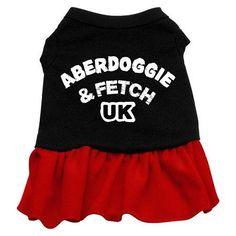 Aberdoggie UK Dog Dress - Red XXXL
