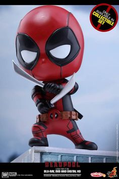 The Deadpool Cosbaby Series Is Getting More Mouthy Mercs