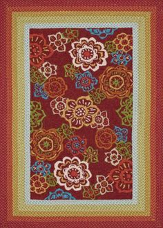 Loloi Rugs Zamora ZM-04 Red Area Rugs