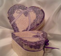 Heart boxes.