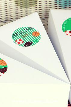Cajas para entregar torta #souvenirscumple