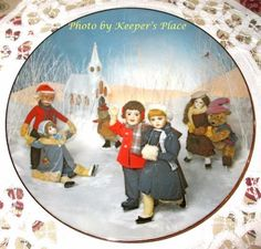 Carol Greunke ICE DELIGHT Arabelle And Friends RECO 1st Issue Collectors Plate