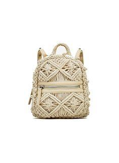 Makramee & # s fotos - fotos Crochet Backpack, Bag Crochet, Crochet Granny, Macrame Purse, Macrame Knots, Micro Macramé, Macrame Curtain, Macrame Design, Boho Bags