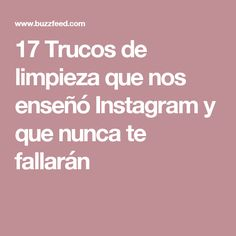 17 Trucos de limpieza que nos enseñó Instagram y que nunca te fallarán Home Hacks, Clean House, Good To Know, Cleaning Hacks, Projects To Try, Remedies, Tips, Iphone, Natural
