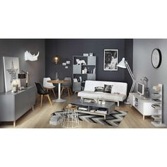 meuble tv vintage en bois blanc l 150 cm maisons du monde 130 - Meubles Blanc Maison Du Monde