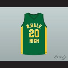2865f0be894 Snopp Dogg 20 N. Hale High School Basketball Jersey Young, Wild and Free.