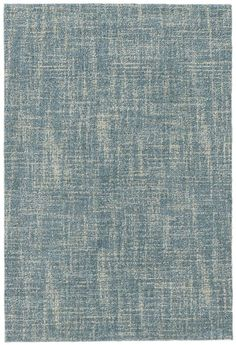 Set sail for soothing syle with this soft blue micro-hooked wool rug. Featuring a subtle, sketchlike pattern and durable construction, this blue wonder is perfect for high-traffic areas throughout the home.