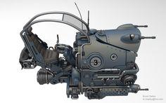 Attack Bike Speeder that I designed Arte Sci Fi, Sci Fi Art, Concept Ships, Concept Cars, Hover Bike, Sci Fi Models, Sci Fi Ships, Space Pirate, Flying Car