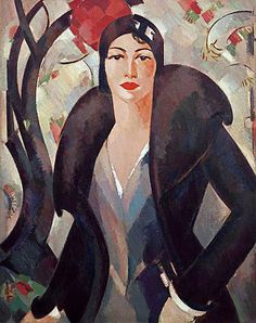 Grace McCall by John Duncan Fergusson (Scottish 1874–1961)