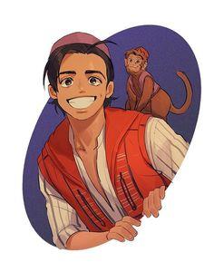 Disney Films, Disney And Dreamworks, Disney Cartoons, Disney Pixar, Walt Disney, Film Aladdin, Aladdin Live, Compass Art, Disney Princesses And Princes