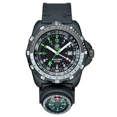 Navy Seal watch with compass by Luminox.