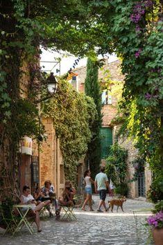 Peratallada. Girona, Costa Brava, Spain. Catalonia