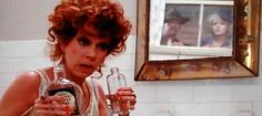 Miss Hannigan from Annie...what a drunk disaster, I love her!