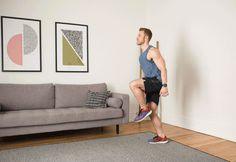 20. 3 Hops to Push-Up #cardio #bodyweight #exercises http://greatist.com/fitness/cardio-bodyweight-exercises