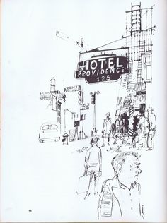 """Taken from """"Creative ink drawing"""" by Paul Hogarth. picture 2 page 46."""