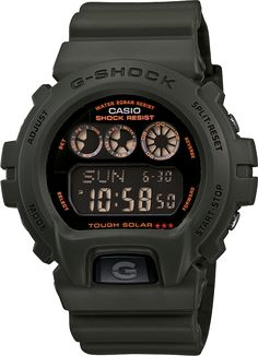 G-Shock 6900 Series is a great watch for out in the field. Easy to read in low light and big enough to see without your glasses.