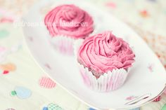 Botercreme: zuivel en suikervrij Cupcake Toppings, Paleo Recipes, Baking Recipes, Bad Sugar, Dairy Free Frosting, Paleo Sweets, Sweet Pie, Birthday Cupcakes, Healthy Baking
