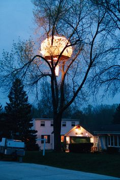Geode-sic dome treehouse