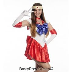 Sailor Mars Costume  sc 1 st  Pinterest & 7 best Sailor Moon Costumes images on Pinterest | Sailor moon ...